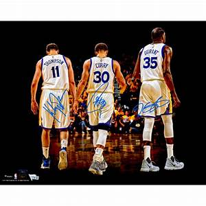 Stephen Curry, Klay Thompson, Kevin Durant Golden State ...