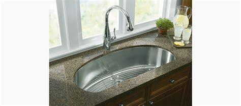 undertone extra large  bowl kitchen sink   kohler
