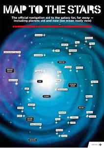 Star Wars 7 : Une carte et les noms des planètes du film ...