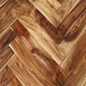 Acacia natural herringbone hardwood flooring acacia for Parquet acacia
