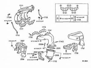 Toyota Rav 4 Manifold  Intake  Manifold Sub