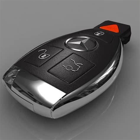 Smart key for mercedes s cl e clk 3 button 315mhz 434mhz. 3d mercedes smart key