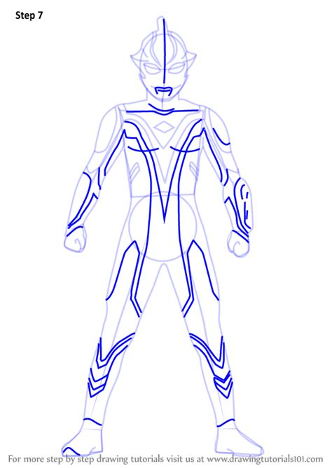 learn   draw ultraman mebius ultraman step  step