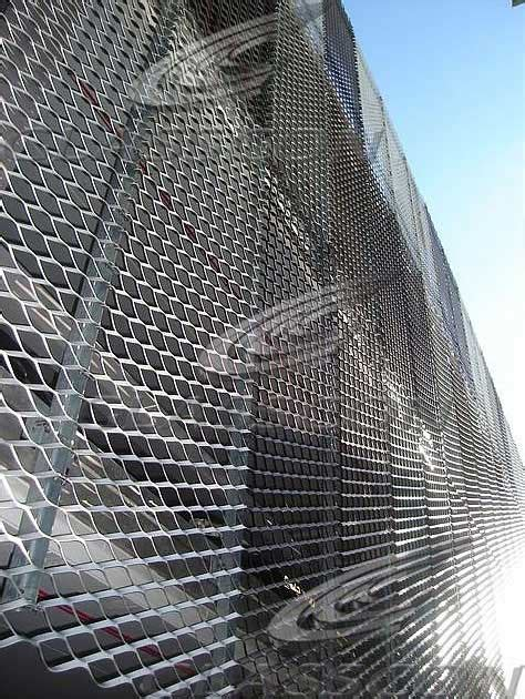 metal cladding materials perforated embossed glasscon gmbh architectural building skins