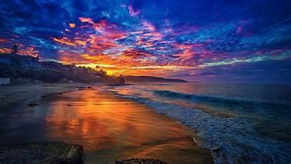 Sunrise Beach Wallpapers Tropical 4k