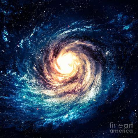 Incredibly Beautiful Spiral Galaxy Digital Art By Vadim