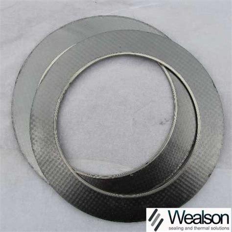 metal eyeleted flat gaskets wealson gasket packing