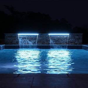 34  Stunning Swimming Pool Lighting Designs