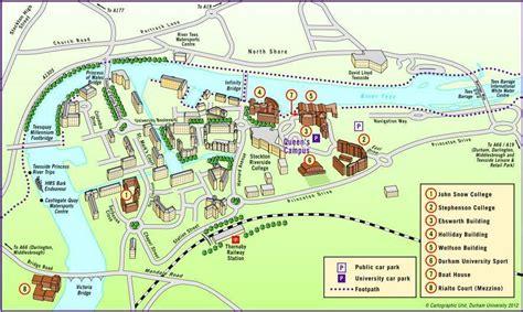 university maps queens campus  dimensional map