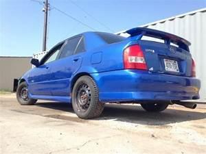 Find Used 2001 Mazda Protege Mp3 Manual 4 Door Blue Car