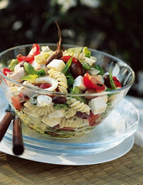 recette salade de pates  la nicoise marie claire