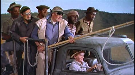 hatari truck opening rhino hunt from howard hawks quot hatari quot youtube