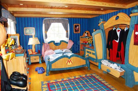 Chambre Mickey B La Chambre à Coucher De Mickey Mouse Chez Disneyworld