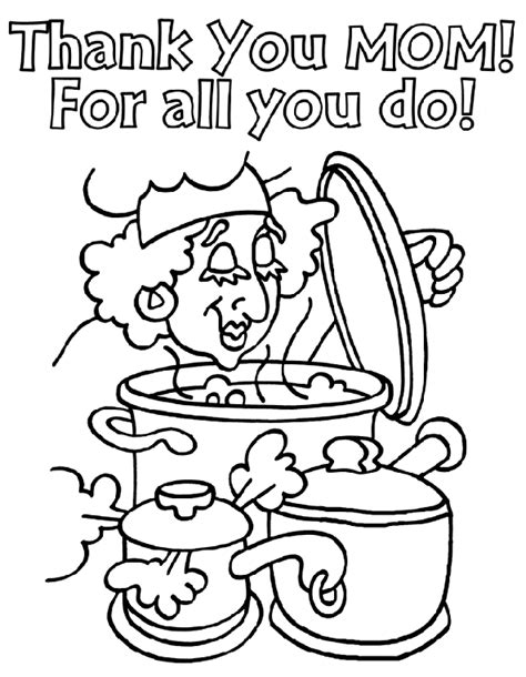 mom coloring page crayolacom