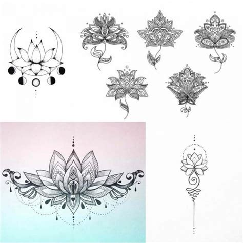 lotus flower tattoo female lotus tattoos designs