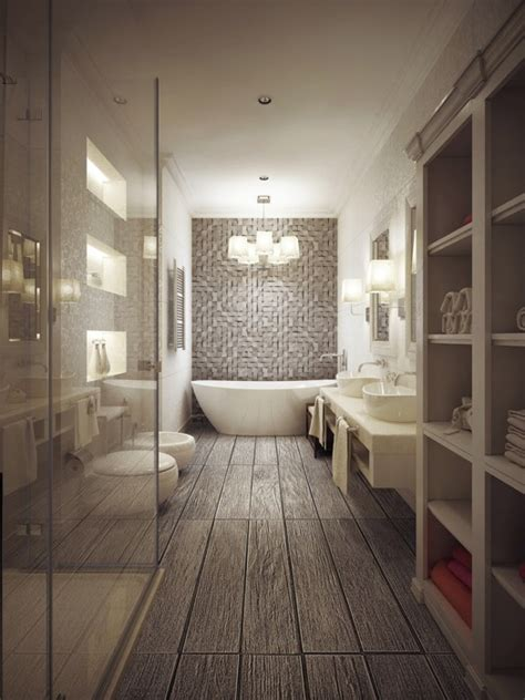 salle de bain beige et taupe photos de conception de
