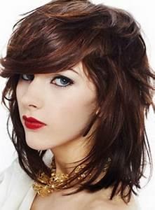 Coupe Petite Fille Mi Long : coupe de cheveux mi long brune ~ Melissatoandfro.com Idées de Décoration