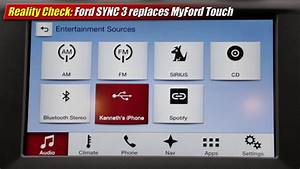 Ford Sync 3 : reality check ford sync 3 replaces myford touch youtube ~ Medecine-chirurgie-esthetiques.com Avis de Voitures