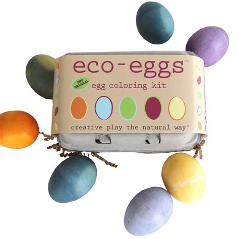 Egg Coloring Kit by Eco Eco Eggs Easter Egg Dyes