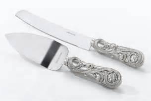 wedding cake knife wedding cake knife server set regal elegance