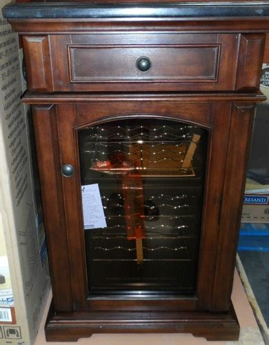 Tresanti Amalfi Wine Cooler Chiller Cabinet Mahogany