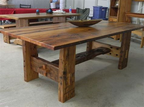 barn wood tables for reclaimed barn wood furniture woodworking projects plans