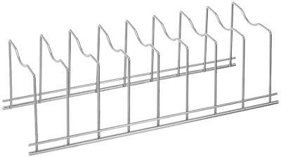 blitzlabs pan  pot lid organizer rack spectrum diversified euro kitchen organ ebay