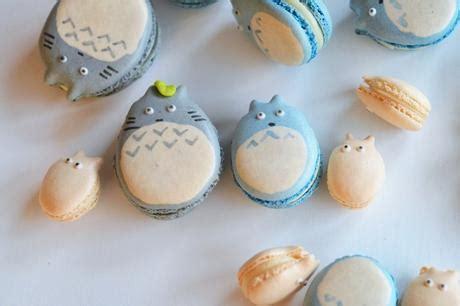 macarons totoro paperblog