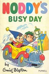 Noddy's Busy Day and Bad Luck for Noddy by Enid Blyton