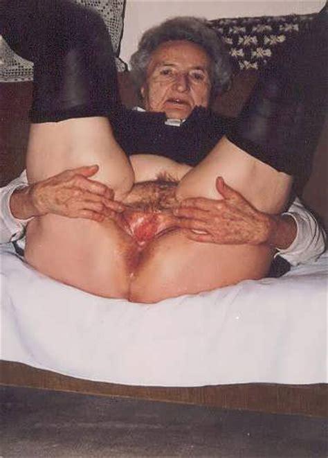 Grandma S Mature Pussy