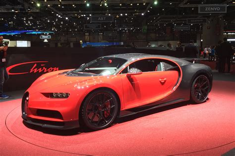 New Bugatti Chiron Sport Makes Geneva 2018 Debut With