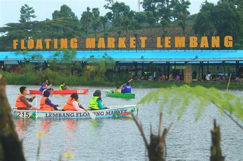 segala  wisata bandung floating market lembang