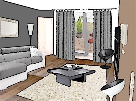 acheter canape comment aménager un salon à partir d 39 un espace vide