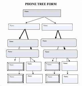 5 free phone tree templates word excel pdf formats With sample phone tree template