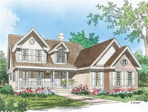 Eplans Country House Plan Conversation Piece 2099