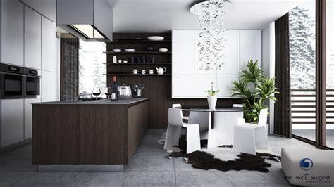 12 Modern Eatin Kitchen Designs