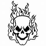 Skull Crossbones Drawing Coloring Pages Bones Getdrawings sketch template