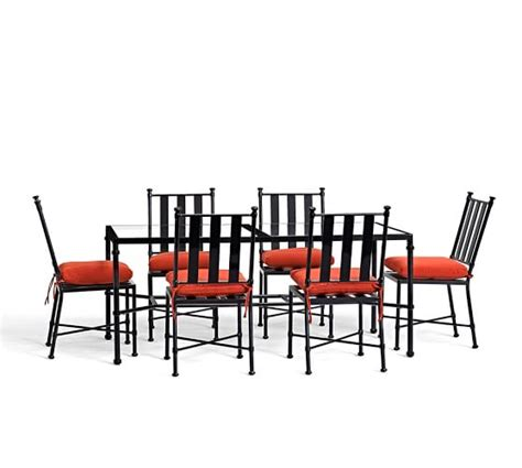 redding rectangular dining table dining chair set