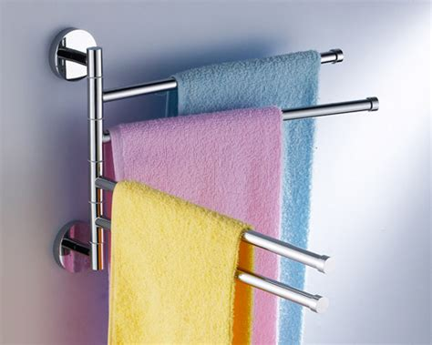 swivel towel rack new swivel towel bar by bathroom accessories manufacturer