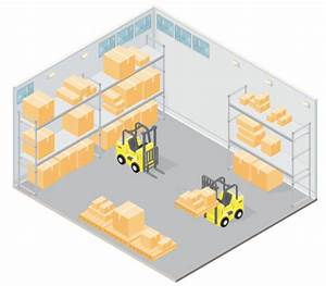 Isometric Warehouse Vector Art | Getty Images