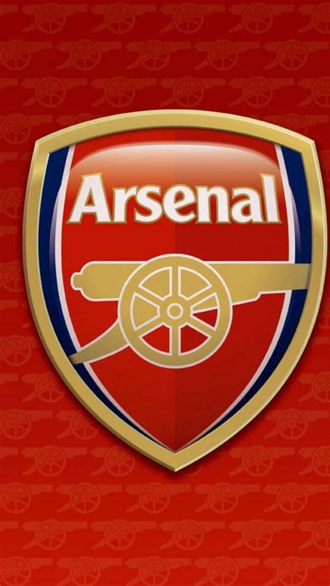 arsenal logo hd wallpaper  mobile pixelstalknet
