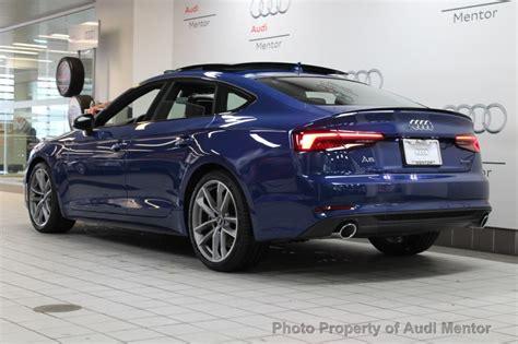 Audi A5 2019 by 2019 Audi A5 Sportback Navarra Blue The Business