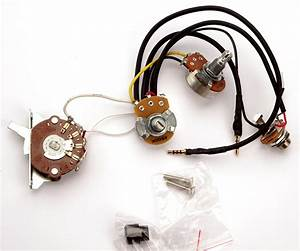 Kwikplug Tele Style Humbucker Or Single Coil Wiring Harness