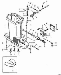 Mercury Marine 90 Hp  3 Cylinder  Drive Shaft Housing Parts