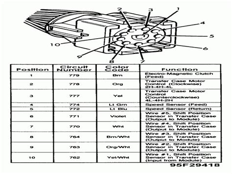 Ford Explorer Transfer Case Diagram Wiring Forums