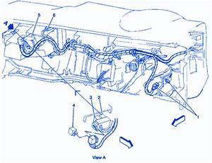 Chevrolet Blazer Suv 1994 Fuse Box  Block Circuit Breaker Diagram