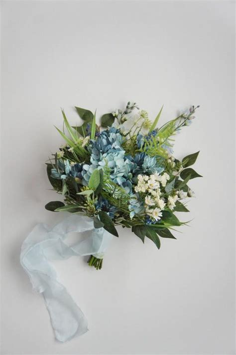ready  ship wildflower bouquet hydrangea lavender