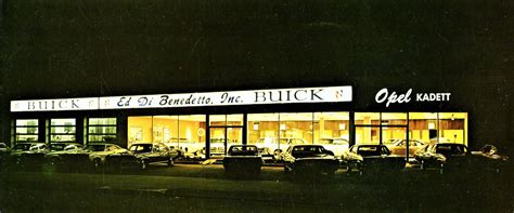 1969 Ed Di Benedetto Buick Dealership, Bayside, New York