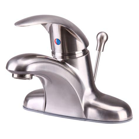 centerset bathroom faucets vantage collection single handle 4 centerset lavatory