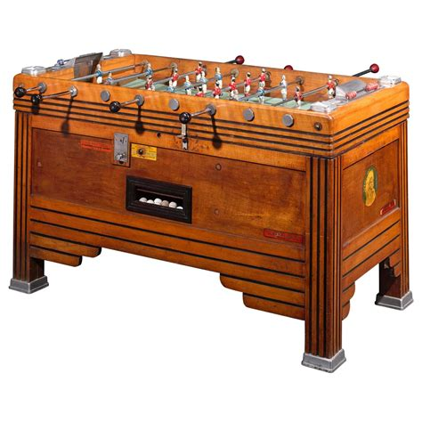 vintage french foosball game table  stdibs